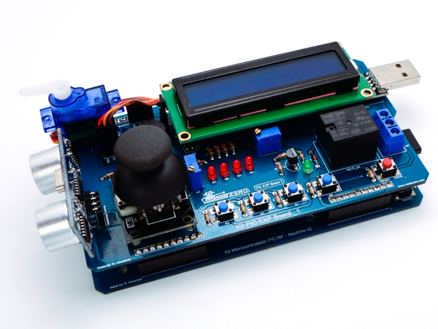 Kit de Desenvolvimento Microcontrolador PIC